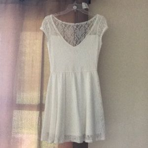 White Lace Hollister Dress